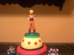 Dragon Ball Z Decorations by Lick Your Lips Cakes Dragonball Z Cake