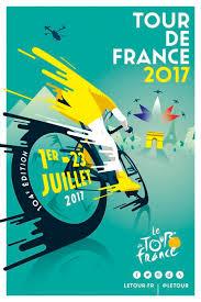 TOUR DE FRANCE 2017 By Raphael Teillet Creative Poster DesignGraphic