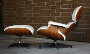 Eames Lounge Chair And Ottoman In White Leather And Rosewood ... Brown Leather Eames 670 Rosewood Lounge Chair 2 Home Brazilian Sold 1970s Herman Miller Ottoman Details About Rare 1960s Lcm Mid Century Modern Classic Emes Style And 100 Top Genuine Black 60s Italian White In Early Special Order Green