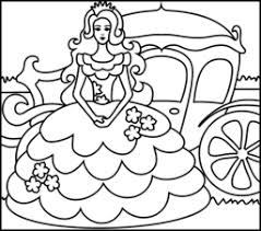 Coloring Pages Printable Awesome Creation Online Game Princess Outfit Simple Dress Train Beautiful Ideas Cartoon