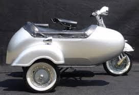 Model Vespa VBB With Sidecar
