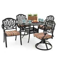 Trendy Redwood Patio Dining Table Of Rosedown 5 Piece Cast Aluminum ... Redwood Sheesham Table And 4 Chairs In Inverness Highland 72 Amazing Decor Ideas Of Patio Ding Live Edge Black Etsy Coaster Room Chair Pack Qty 190512 Aw Valley Toffee Slipcover 2pack8166 Mountain Top Fniture Upgraded Linens On The Celebration Hall Lawn Spectrum Denim 2pack Circle Chad Acton Cool Masschr Custom Massive Made Retro Vintage Metal Outdoor Luna Redwood U S A Duchess Outlet
