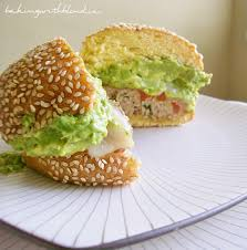 Pumpkin Throwing Up Guacamole by Baking With Blondie Chili Lime Turkey Burgers With Guacamole And