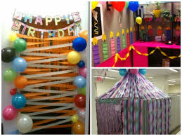 Bosss Day Decorations by Birthday Celebrations At The Office Decorate A Fellow Employee U0027s
