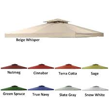 Sears Canada Patio Umbrellas by Sears Canada Gazebo Replacement Canopy Garden Winds Canada