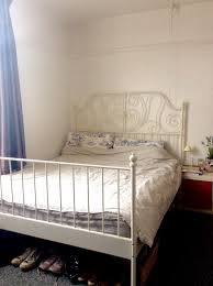 leirvik bed frame ikea leirvik king size bed frame slatted bed base and mattress
