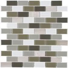 Thinset For Glass Mosaic Tile by Elida Ceramica Caribbean Diamonds Green Glass Mosaic Linear Indoor