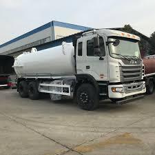 100 Sewer Truck China JAC 12000L 16000L Vacuum Tank Sewage Suction