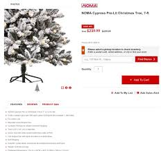 Pre Lit Flocked Christmas Tree Canada by Canadian Tire Flocked Christmas Tree Winter Wonderland Of The