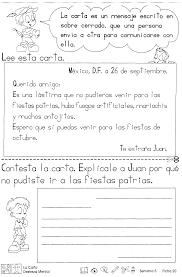 La Carta Destreza Mental Segundo Grado Pinterest Spanish