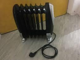 heizung öl radiator 800w neu klein stylisch ideal für bad wc