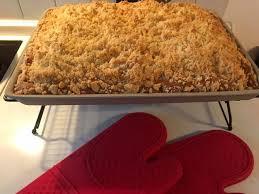 mandarinen streusel kuchen auf dem großen ofenzauberer