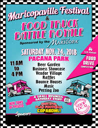 100 Food Truck Competition Maricopaville Festival And Battle Royale