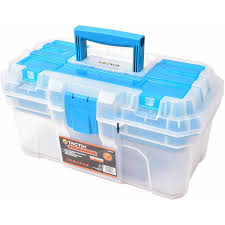 100 Plastic Truck Toolbox TACTIX 16 Tool Box Walmartcom
