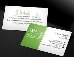 100 Ama Associates Business Business Card Design For Stephen Mitchell