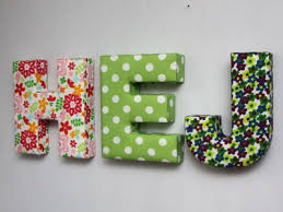 Best 25 Fabric covered letters ideas on Pinterest