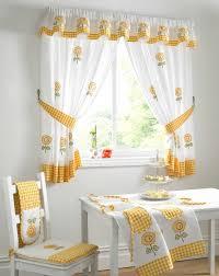 Modern Fabric Kitchen Curtains 16