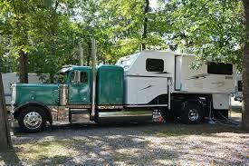 Peterbilt Truck Camper Big Rig Http Www Truckcampermagazine Com
