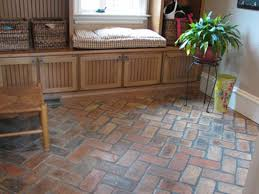 Brick Tile Flooring Design