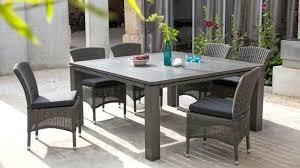 mobilier de jardin leroy merlin 2016 salon malaga aluminium taupe