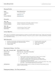 Profile Resume Template Example Of For Profiles Examples Customer Service Samples Summary