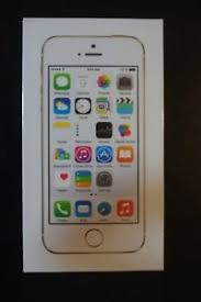 NEW SEALED Boost Mobile Apple iPhone 5S 16GB Gold Smartphone