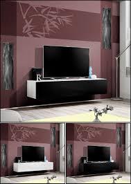 möbel tv tisch mit ethanol kamin lowboard tv board