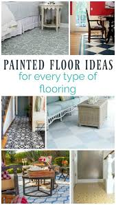 Beautiful Painted Floor Ideas For Every Type Of Flooring Plywood Hardwoods Concrete