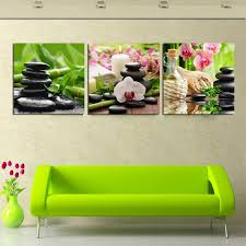2018 Hot Sell Canvas Wall Art Modern Nature Green Painting