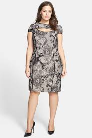 abs collection cutout lace sheath dress plus size nordstrom rack