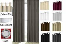 einfarbige gardinen vorhänge fürs schlafzimmer günstig