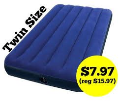 Intex Twin Air Mattress only $7 97 FREE Store Pickup