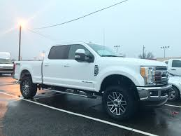 2017 F250 We Did For A Customer. ReadyLift Level Kit. 35