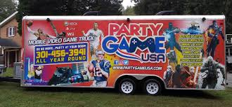 100 Game Truck Birthday Party In Waldorf Maryland Rental Services In Maryland