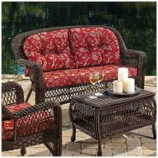 Red Patio Furniture Decor by Unique Wilson And Fisher Patio Furniture Reviews 30 On Small Home