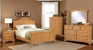 Solid Wood Bedroom Furniture Design of Farmhouse Collection by