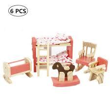 puppenstuben häuser holzhaus möbel miniatur kinderzimmer