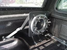 Spare Tire Mount - Bed Mounted - 31