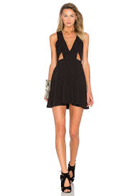 nbd x naven twins ask me out mini dress in black style