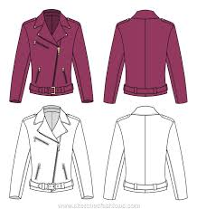 sketches fashions fashion sketches of jackets and coats