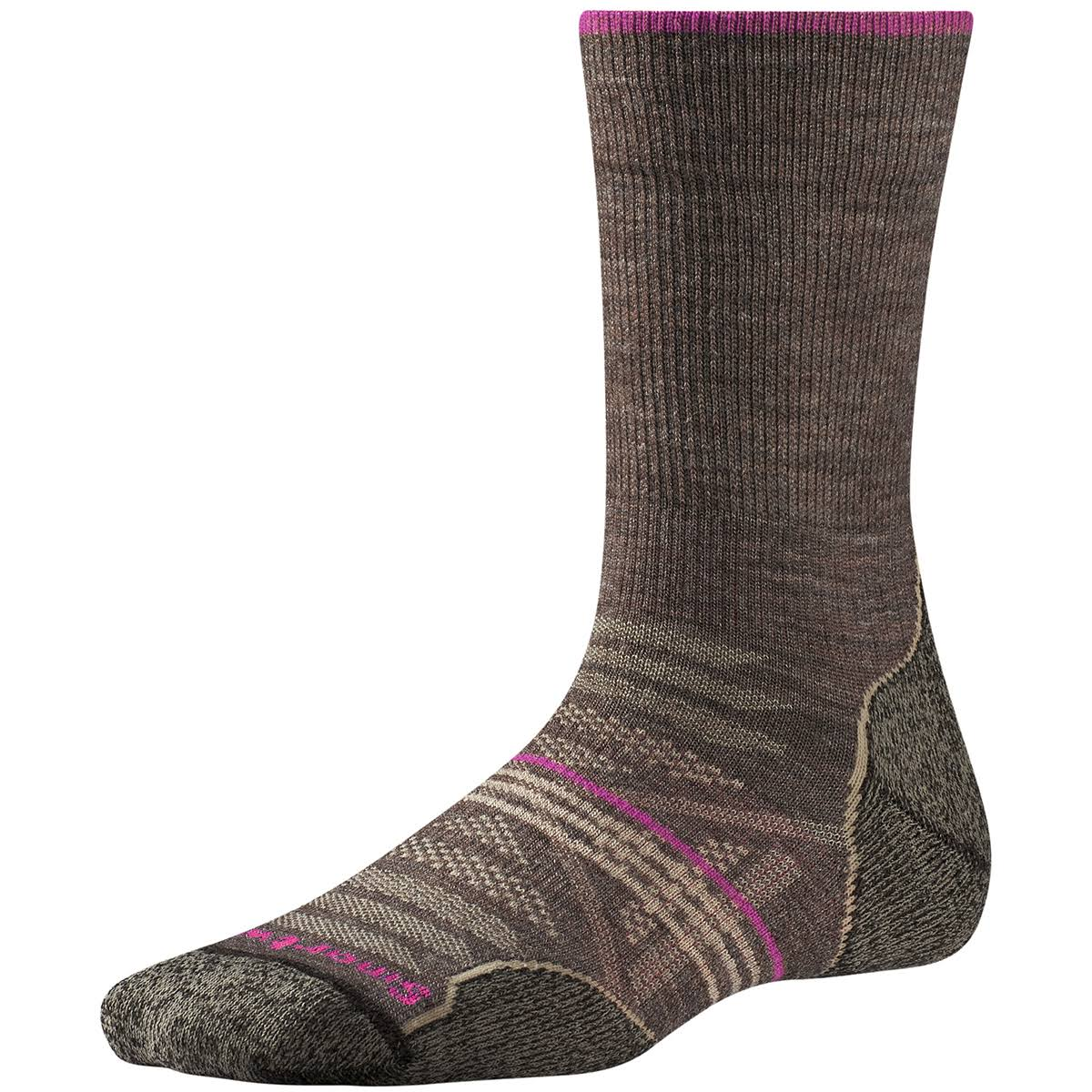 Smartwool Women's PHD Outdoor Light Crew Socks - Taupe, Medium
