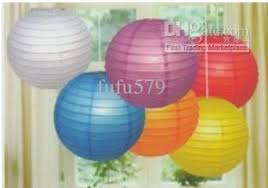 Christmas Diy Lanterns Online For Sale White Paper Lantern Round Lampshade With