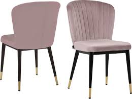leonique esszimmerstuhl dinan 2er set mit gepolstertem sitz und rückenlehne modernes design