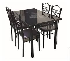 Tempered Glass Dining Table 4chairs Set, Furniture, Tables & Chairs ... 4 Chair Kitchen Table Set Ding Room Cheap And Ikayaa Us Stock 5pcs Metal Dning Tables Sets Buy Amazoncom Colibrox5 Piece Glass And Chairs Caprice Walkers Fniture 5 Julia At Gardnerwhite Pc Setding Wood Brown Ikayaa Modern 5pcs Frame Padded Counter Height Ding Set Table Chairs Right On Time Design 4family Elegant Tall For Sensational