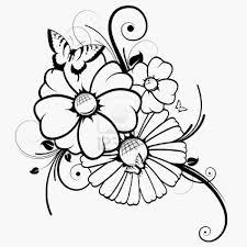 Dessin Fleur A Imprimer Gratuit Depu Vi