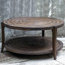 Rustic Style Coffee Table Full Size Of Round Barn French