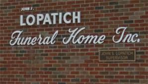 John J Lopatich Funeral Home Latrobe Pennsylvania Funeral