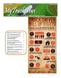 100 Dac Report For Truck Drivers My News September 2013 By Trish Neal Issuu