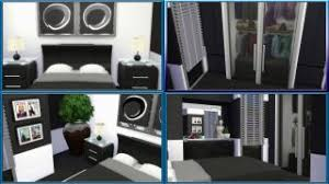 I Enjoy Creating My Bedrooms In The Same Way Building Bathrooms Realistic Size Easy Accessible And Playable Black White Is Go To