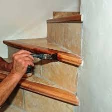 rénover entièrement le carrelage d un escalier